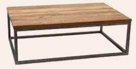 Teak Holz Couchtisch Boston 120cm x 80cm - Bild vergrößern
