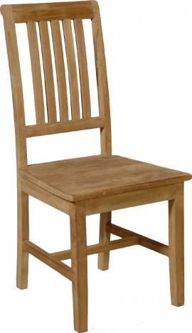 Teak Holz Stuhl Lion - Bild vergrößern