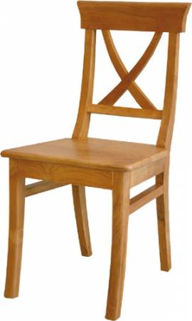 Teak Holz Stuhl Marijan - Bild vergrößern