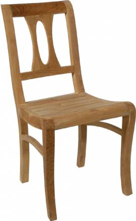 Teak Holz Stuhl Napoleon - Bild vergrößern