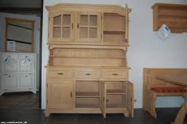 Küchen Büffet Landau/Amberg 3-türig Fichte massiv gewachst R138 - Bild vergrößern