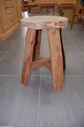 Masssiv Holz Teak Holz Hocker Semar Knaller Preis - Bild vergrößern
