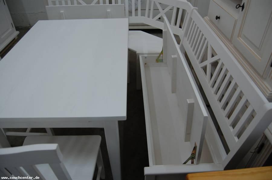 truheneckbank weis, couch center - online versandhandel: massivholz eckbank grainau, Design ideen